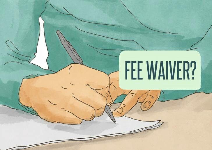All About Fee Waivers What Is A Fee Waiver Who Is Eligible And