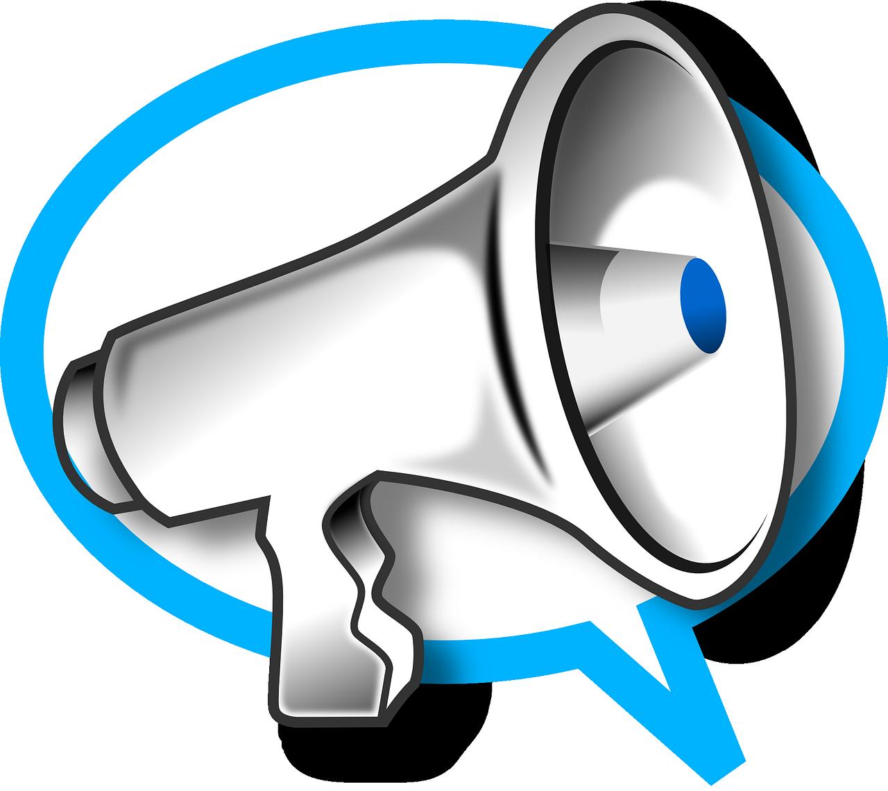 megaphone-147176_1280