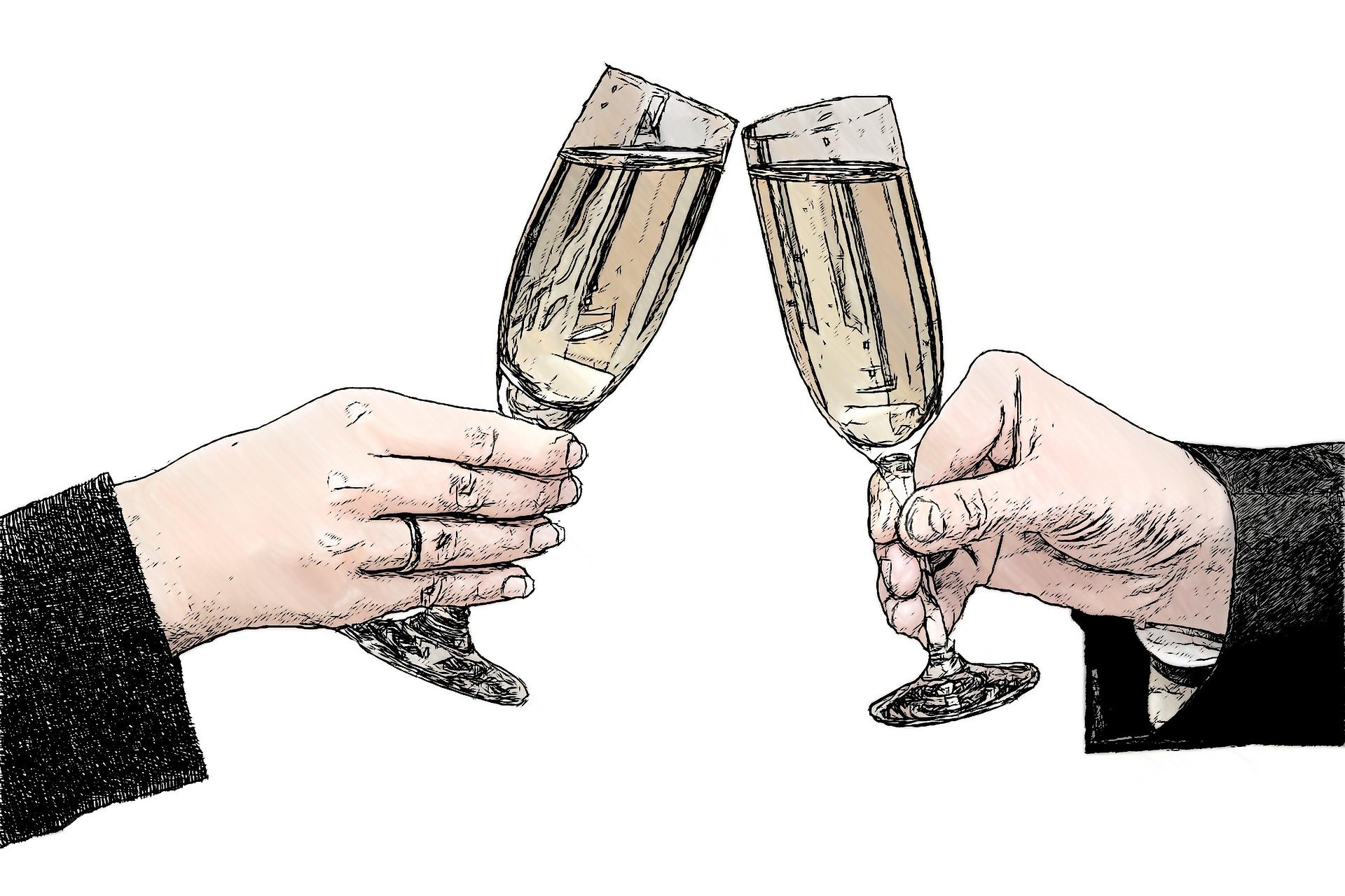 champagne-glasses-821435_1920